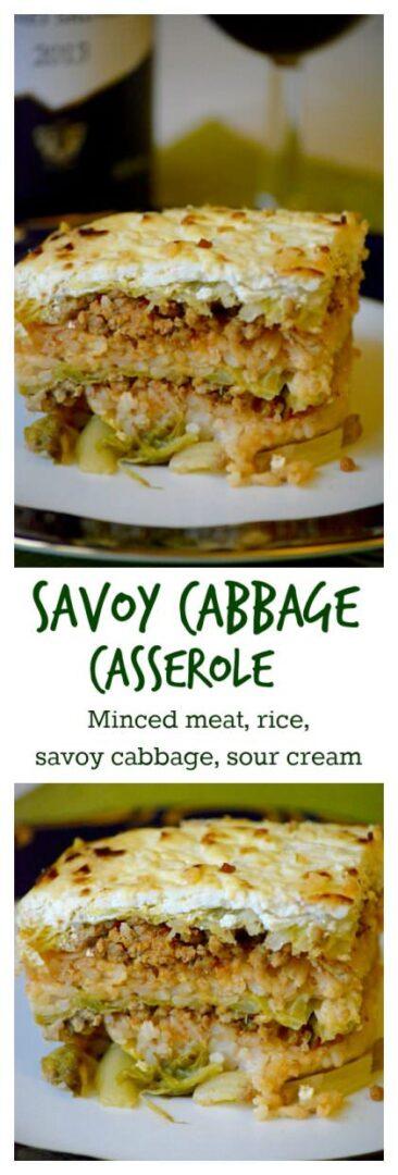 Hungarian layered savoy cabbage, Rakott kelkáposzta recipe