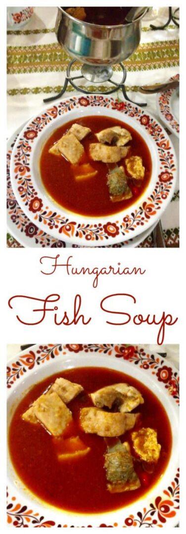 Hungarian fish soup, halászlé recipe