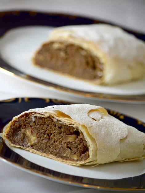 Hungarian walnut strudel recipe