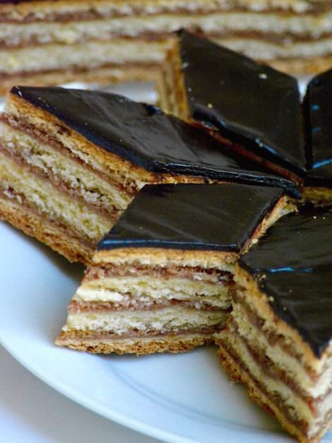 Hungarian gerbeaud cake recipe