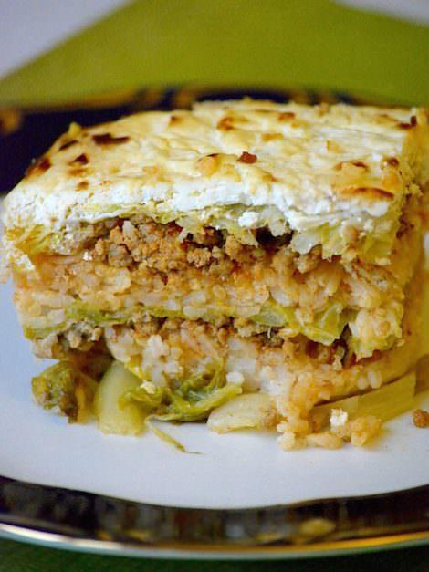 Hungarian layered savoy cabbage, Rakott kelkáposzta