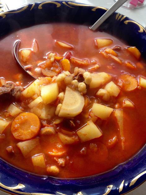 Authentic Hungarian goulash soup recipe