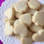 Butter cookie recipe, Butter shortbread cookies