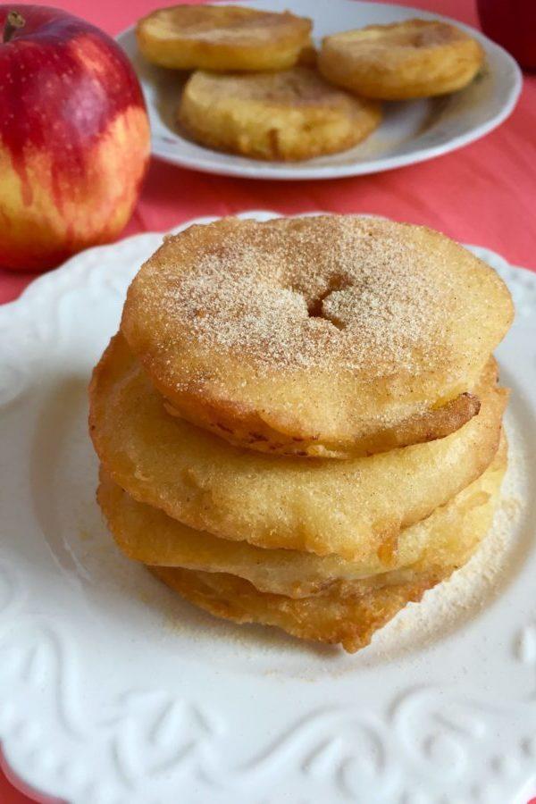 Hungarian apple fritters recipe, Alma pongyolában