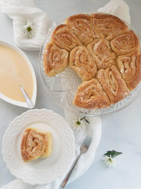 Hungarian butter rolls, Ferdinand tekercs